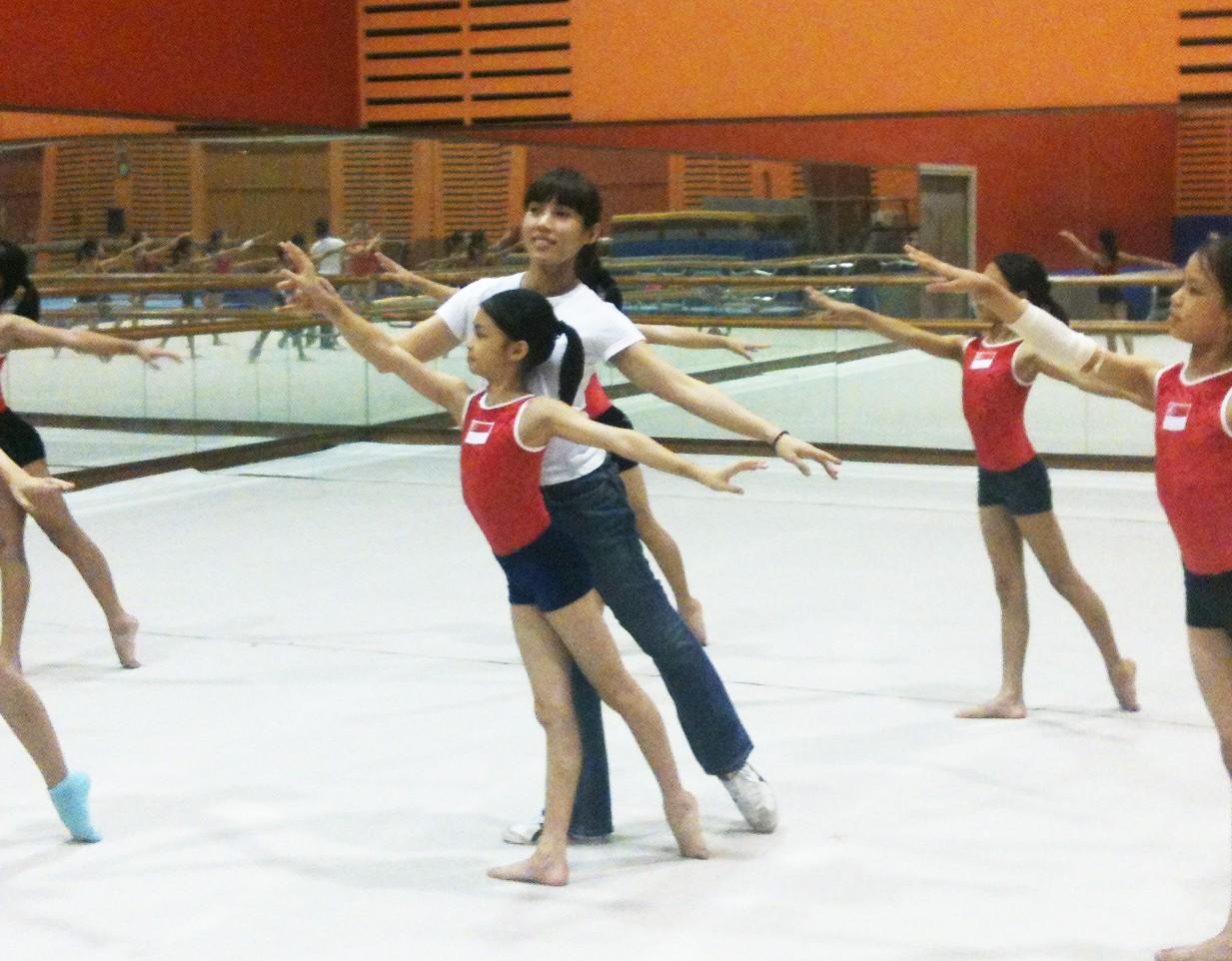 An Inspiring Ballet School